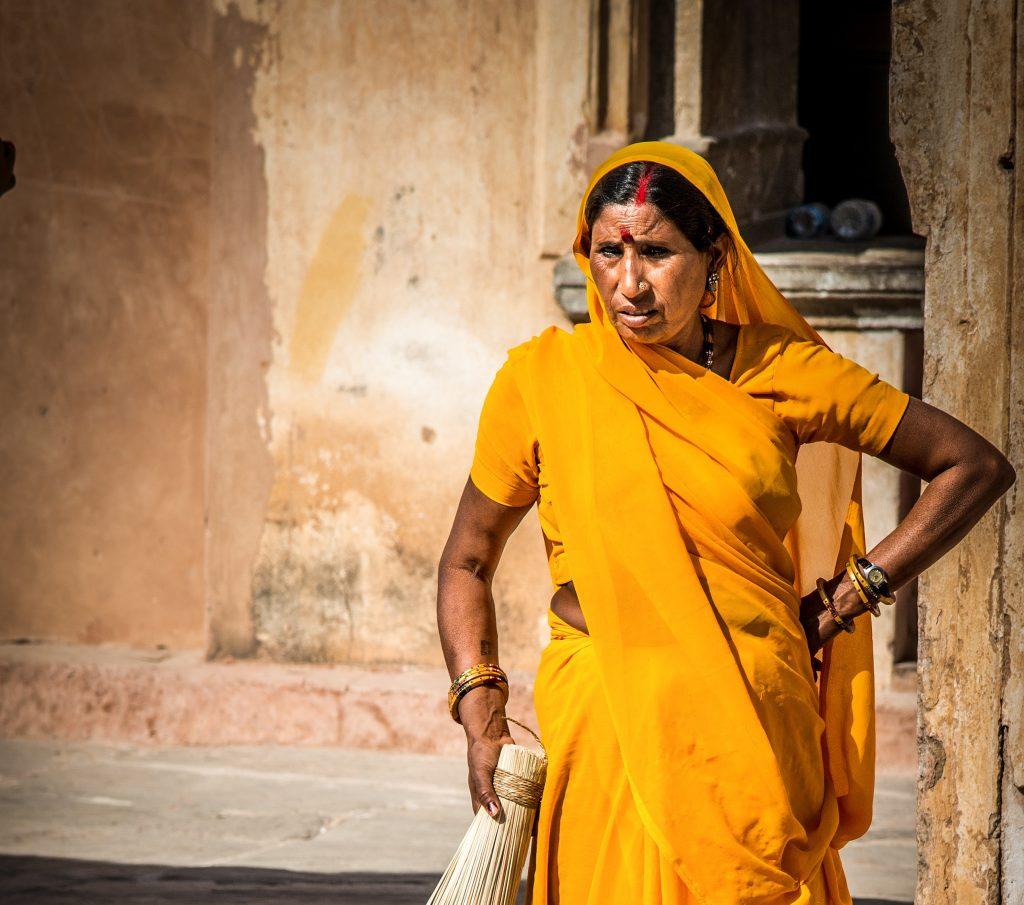 Indisk kvinne